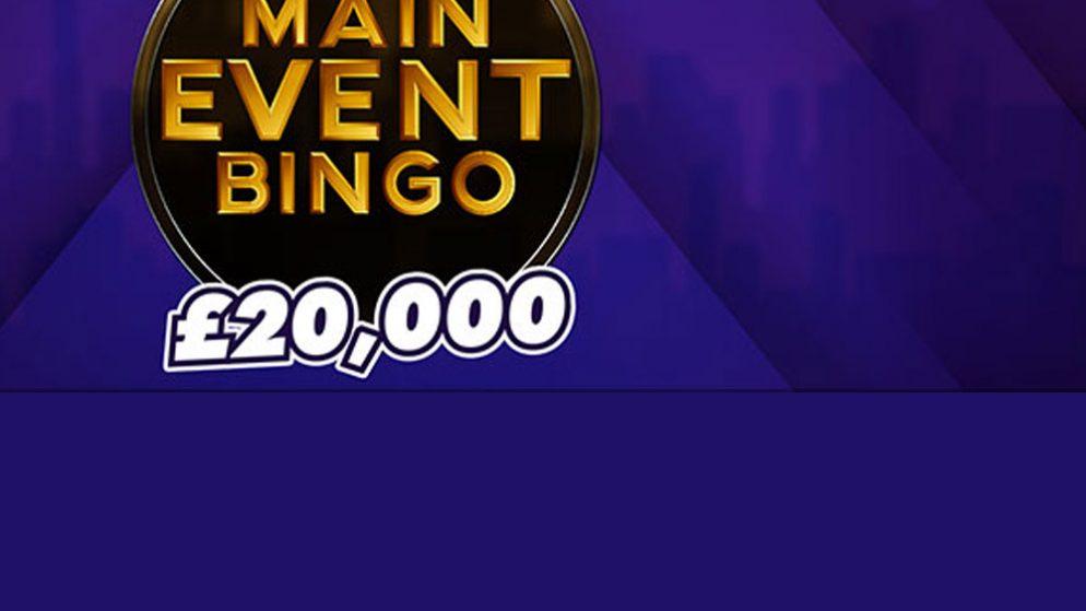 Play for £20,000 in Mecca Bingo big bingo show