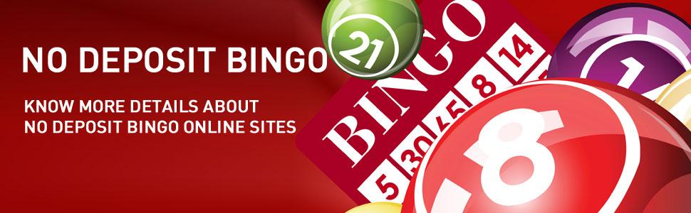 No deposit bingo free money