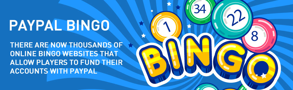 Bingo with your PayPal Account