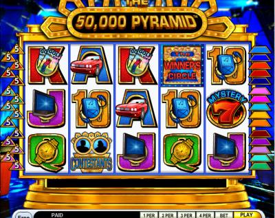50,000 Pyramid Slot