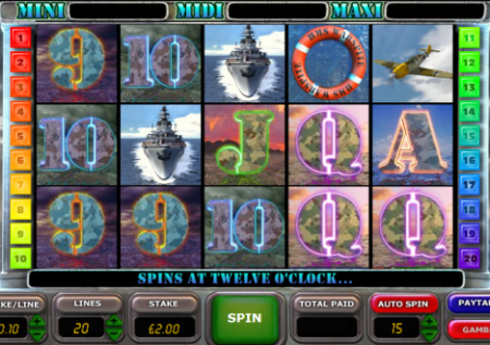 Battle of the Atlantic Slot