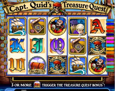 Captain Quid Treasure Slot