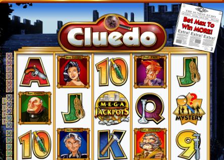 Cluedo Mega Jackpots Slot