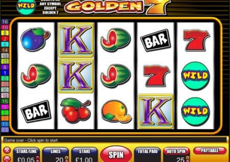 Golden 7 Slot