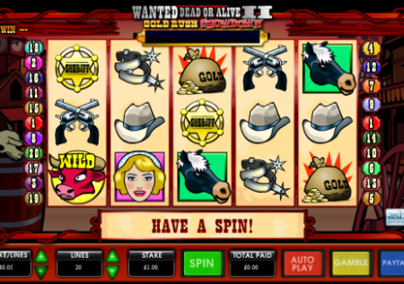 Wanted Dead or Alive II Slot
