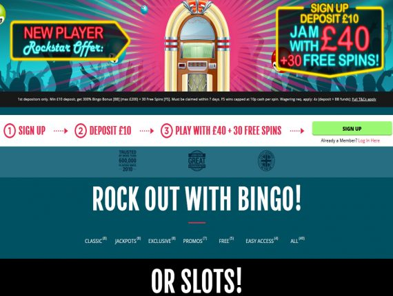 Free Bingo For UK Players – you are going to love the Sing Bingo web site